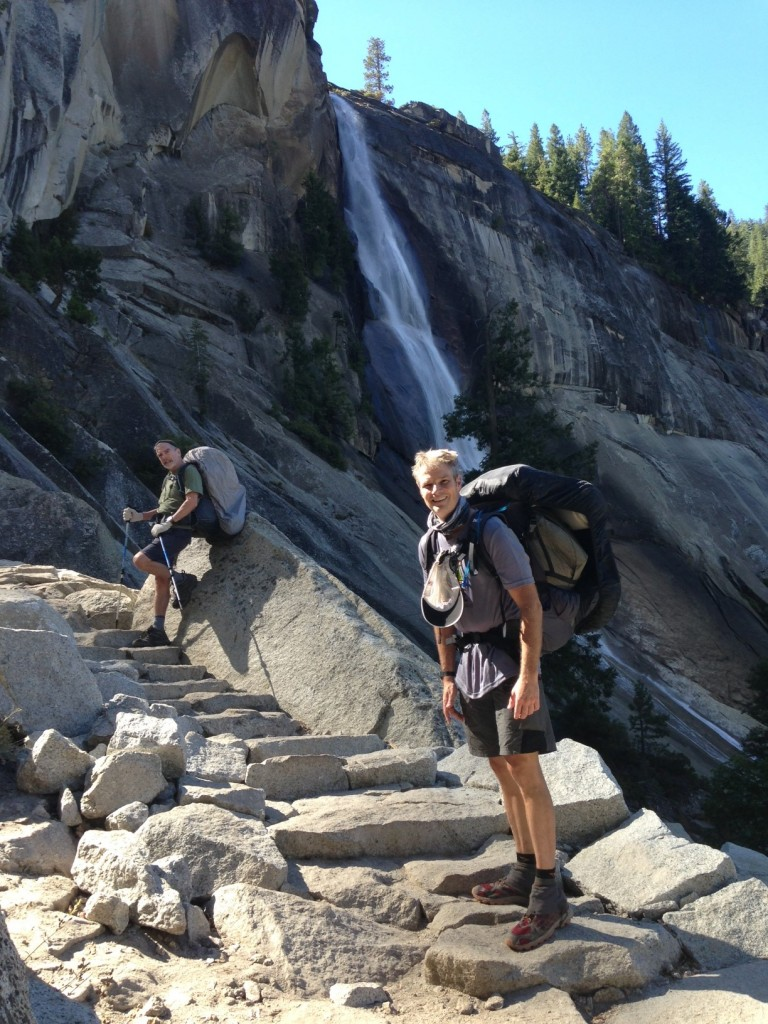 JMT Day 1 Nevada Falls