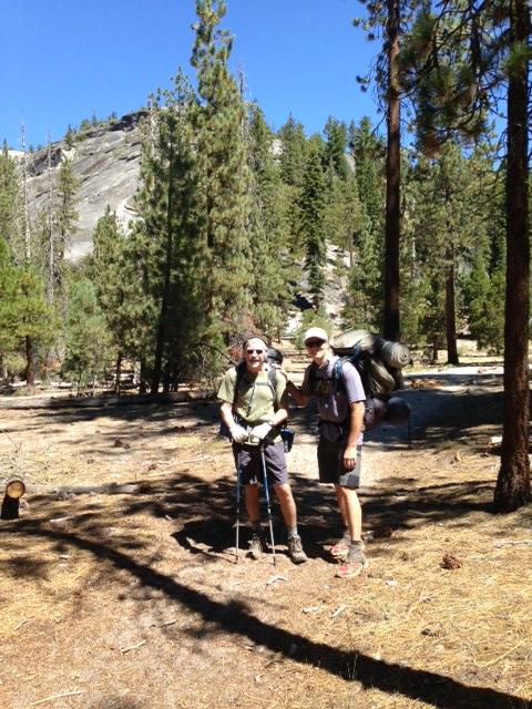JMT Day 1 Little Yosemite Valley